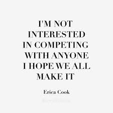 not interested in competing