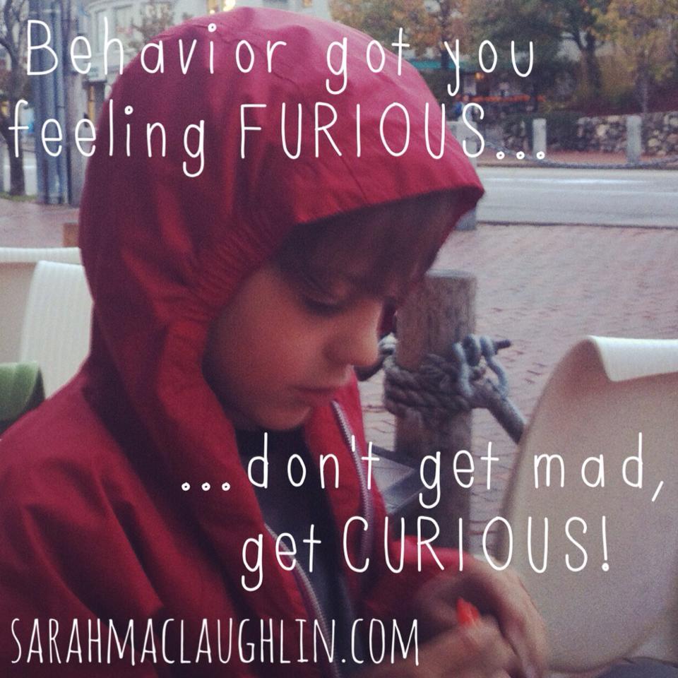 furious to curious