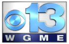 WGME Channel 13 Logo